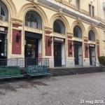 Vomero piazza Fuga, funicolare centrale chiusa