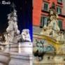 Vedi la galleria NAPOLI : LA FONTANA DI MONTEOLIVETO DI NUOVO IMBRATTATA