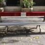 Una panchina rossa per vittime violenza